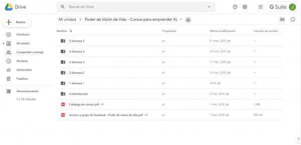 Poder de Visión de Vida - Cursos para emprender XL - Google Drive_ - drive.google.com