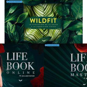Pack Salud y bienestar - Wildfit + Lifebook Online + Lifebook Mastery