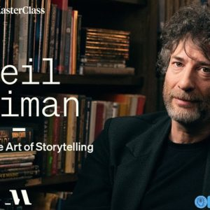 Teaches the Art of Storytelling by Neil Gaiman